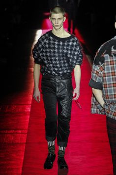 Haider Ackermann   Menswear - Autumn 2017   Look 4
