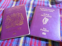 As a perpetual traveller, your passports fill up too quickly, but there's another option - dual nationality. Here's why I hold multiple passports and why you should too. British Passport, Girls World, Travel Essentials, Irish, Hold On, Holidays, Pink, Holidays Events, Irish Language