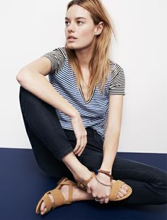 Camille Rowe Looks We Love - Denim Jeans & More - Shop by Your Style - Madewell