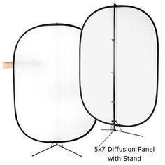 Fotodiox Pro 5x7' Soft Diffuser Collapsible Disc Panel Kit with Stand Support, for Outdoor and Studio Lighting Fotodiox http://www.amazon.com/dp/B003Y2KSF8/ref=cm_sw_r_pi_dp_0tC7wb1ZPWZH1