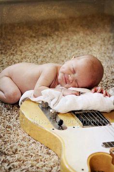 Newborn Guitar Picture