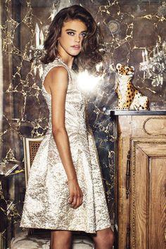 Brocade of Honor Gold Brocade Dress. Gold Brocade Dress, Brocade Dresses, Gold Dress, Classic Style, Classic Fashion, Holiday Wear, 50th Wedding Anniversary, Fashion Outfits, Dress Fashion