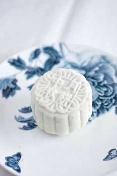 Durian Snowskin Mooncake - I'm sure I won't be able to make these, but they are beautiful!