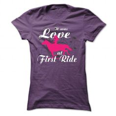 its was love at first time - #husband gift #gift friend. CHEAP PRICE => https://www.sunfrog.com/Pets/its-was-love-at-first-time-Purple-Ladies.html?68278