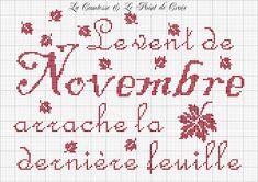 La Comtesse & Le Point De Croix_November