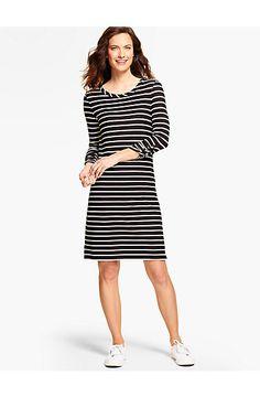 Stripes Terry Dress - Talbots