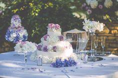 Wedding Cake Photographer: Blu Foto  Floral Design: Filly Creazioni Floreali Catering: Il Ritrovo d'Abruzzo