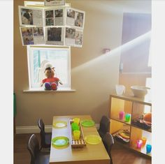 Preschool Natural Snack Area Eyfs Classroom, Classroom Ideas, Snack Station, Organisation Ideas, Snacks For Work, Preschool, Reception, Environment, Nursery