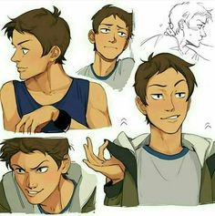 Have I told you yet that Lance is beautiful
