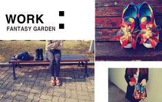 양모물펠트를 이용한 신발! 톡톡튀고 예쁜 것 같아요:) 김민경 디자이너의 작품집에 정말 예쁜 아이템들이 많네요 :)