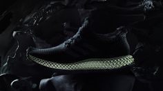 Adidas shapes Futurecraft 4D shoe soles using light and heat