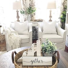 Farmhouse style living room