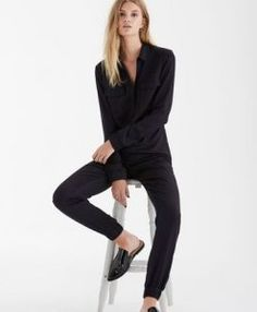 Tall CURATD. x LTS Utility Boiler Suit at Long Tall Sally. Tall Clothing at PrettyLong.com