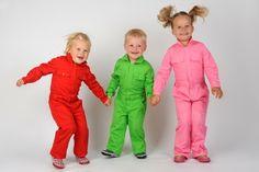 Persbericht: Chickadees presenteert: roze & groene kinderoveralls