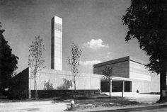 St. Mauritius Church, Munich, Germany (1967) Architect: Büro Groethuysen