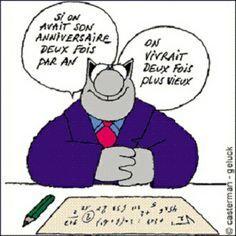 Joyeux Anniversaire Le Chat Bd Le Chat Anniversaire Humour Le