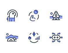 "Se dette @Behance-projekt: ""Elpis iconography"" https://www.behance.net/gallery/64930669/Elpis-iconography"