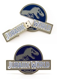 We're huge fans of Jurassic World! What better way to celebrate one of our favorite movies than to create a cool Custom Shaped USB Drive? As iconic as the original logo was, we were really digging the new updated logo, and thought this would be the perfect idea for a custom shape. So what do you think? With enough support we'll pitch our idea to Universal and see if we can get these flash drives out to the public. Thanks for taking a look!