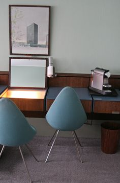 the Arne Jacobsen Suite at Royal Copenhagen Hotel