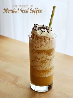 Frappe, Blended coffee and Blended coffee drinks on Pinterest