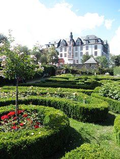 Renaissancegarten der Burg Idstein