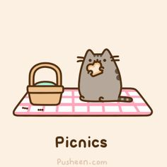 Pusheen the cat by Vera | We Heart It