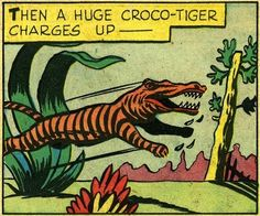 WHAT A  crocotiger!! Thats like my two favorite animals!!! This is all im doing on Friday classes