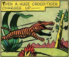 Team croco-tiger!  yaaassss-si!
