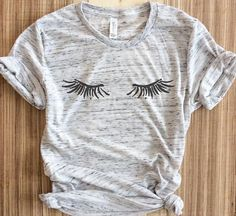Eyelashes Shirt Lashes Shirt Mascara Tumblr Tee Makeup