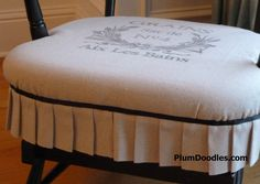 1000 Images About Chair Cushions On Pinterest Windsor Chairs Slipcovers A