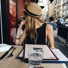#inspiração #fashion #chapéu