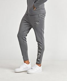 Fulok Mens Athletic Sweatpants Plus Size Elastic Wasit Soft Basketball Pants Navy Blue 5X-Large
