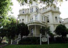 historical mansions   Historic Governors Mansion. Sacramento, California.