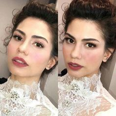 Hey Gorgeous, Beautiful, Turkish Beauty, Turkish Actors, Pure Beauty, Actors & Actresses, Wedding Hairstyles, Hair Makeup, Hair Beauty