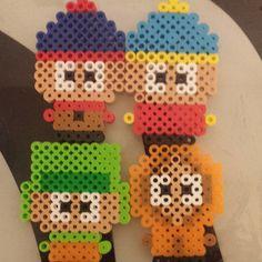 South Park perler beads by kay.likes.art