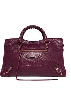 Pre-owned - City leather crossbody bag Balenciaga RlMB8a07OF
