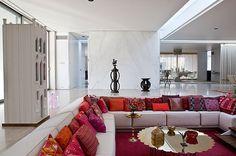 The Miller House by Eero Saarinen, Alexander Girard and Dan Kiley.