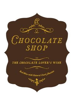 Red Wine - NV Chocolate Shop Chocolate Shop Red 750 mL -- Continue to the product at the image link.