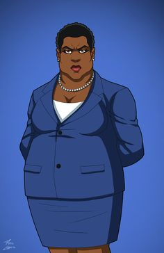 Amanda Waller (Earth-27) commission by phil-cho