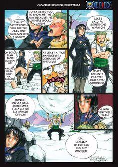 Zoro and Robin