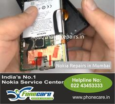 Right here arrives India's 1st organised chain of repair centers with regard to Nokia Cell  Repair service center in and as well all accross Mumbai. Dial on 9870436796