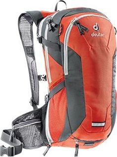 Deuter Compact Air EXP 10 Backpack - Papaya/Granite 32182 94030 * More info could be found at the image url.