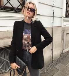 Looks Street Style, Looks Style, Casual Looks, Girl Fashion, Fashion Looks, Fashion Outfits, Womens Fashion, Spring Summer Fashion, Autumn Fashion