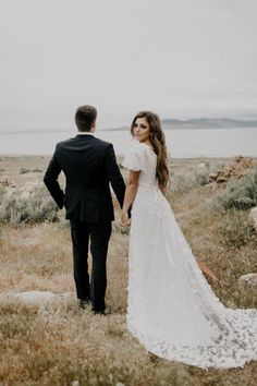 51 Best Wedding Dresses Perfect For A Mountain Wedding Images