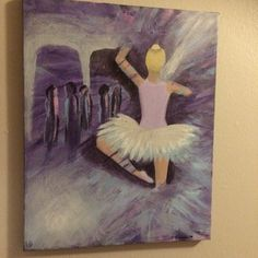 My #painting #acryl #ballerina