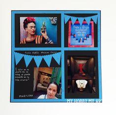 My hobby My Art: Layout con Frida