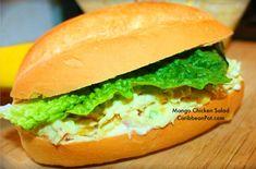 Apple Mango Chicken Salad.