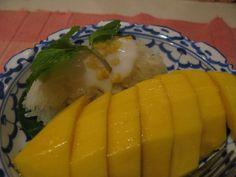 Thailand's Sticky Rice and Mango #vegan #recipe