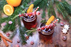 Cranberry Punch + Mason Jars!