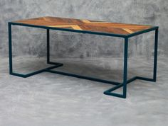 Inquiries at dominique@yabdesign.com Alexa 6 seater Dining Table.  Material	Lacquered Steel and Wood Lenght (cm)	190 Width (cm)	91 Height (cm)	76 CBM	1.474 Lenght (inch)	74.80 Width (inch)	35.83 Height (inch)	29.92  #ThingsMatter
